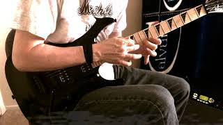 """""""The Devil Doesn't Live Here"""" by Stryper (Full Guitar Cover)"""
