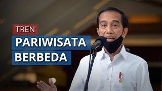 Presiden Jokowi Ingatkan Tren Pariwisata akan Berubah karena Pandemi Virus Corona