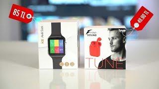 BİM'de satılan Freesound kulaklık ve K8 akıllı saat satın aldık!