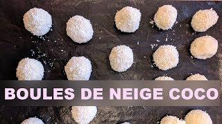 Biscuits de fêtes #7: boules coco