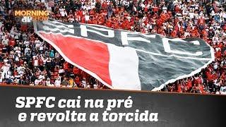 São Paulo cai na pré-Libertadores e revolta a torcida