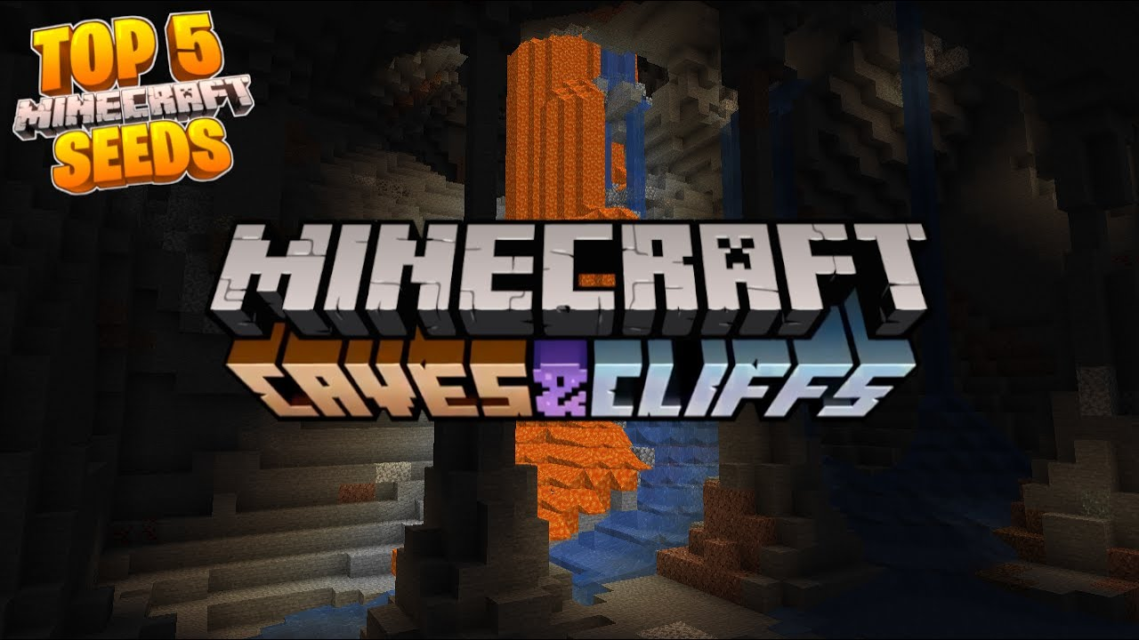 Top 5 CAVES Seeds for Minecraft 1.17 CAVE AND CLIFFS UPDATE MINECRAFT SEED -7768938322346693096