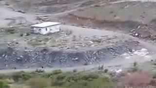 preview picture of video 'امطار وفيضان بلجرشي الباحة 2014'