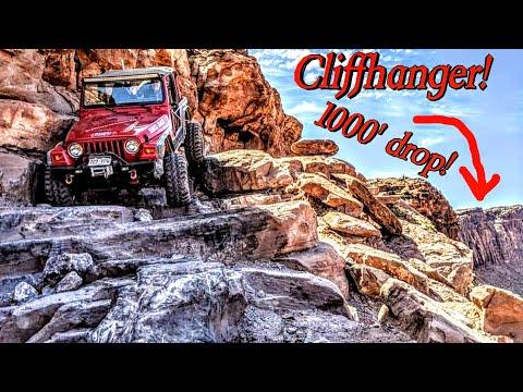 Moab Trail Run - Cliffhanger