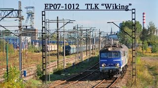 preview picture of video '[ PKP Intercity ] EP07-1012 TLK Wiking @Chorzów Stary 2012-09-30'