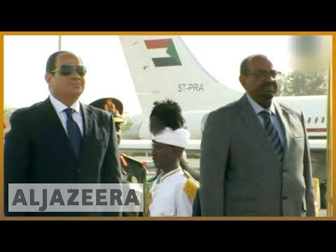 Egypt's el-Sisi in Sudan to discuss water, Halayeb l Al Jazeera English