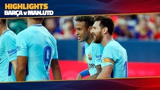 [HIGHLIGHTS] FC Barcelona - Manchester United (1-0) ICC 2017