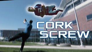 How to CORK SCREW | Free Running Tutorial
