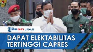 Dapat Elektabilitas Tertinggi Sebagai Capres 2024, Prabowo Subianto Kalahkan Anies, Ganjar dan Risma
