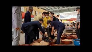 김영록 전남지사ㆍ구충곤 화순군수, 화순 전통시장 찾아