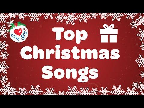 School Christmas Songs Playlist with Lyrics | Children Love to Sing