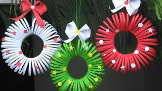 Paper Crafts For School | Christmas Crafts | Christmas Decorations Ideas | Paper Craft | Paper
