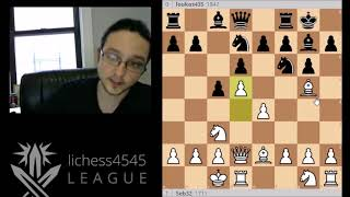 Lichess4545 S10 Review - Seb32 vs loukas435