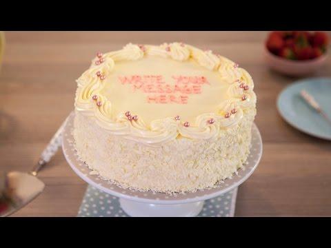 Video Vanilla Sponge Birthday Cake Recipe - Betty Crocker™