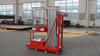 How to operate a SKYSTAIR Aerial Manlift Platform