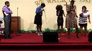 """Ashley & the Anointed Trios """"Recommend Jesus"""""""