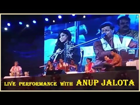 Live performance with Anup Jalota Sir