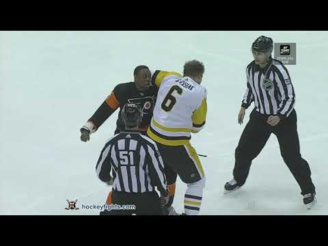 Jamie Oleksiak vs. Wayne Simmonds