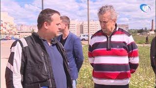 Андрей Никитин вновь проверил строительные площадки Великого Новгорода