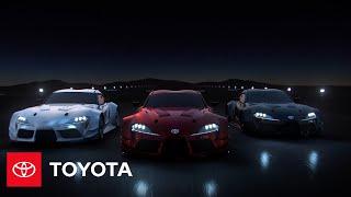 YouTube Video AhpCMins6aM for Product Toyota GR Supra Sports Car (5th gen J29/DB) by Company Toyota Motor in Industry Cars