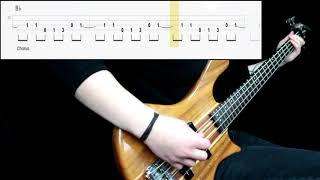 The Strokes - Juicebox (Bass Cover) (Play Along Tabs In Video)