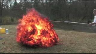 Acetylene & Oxygen Explosion