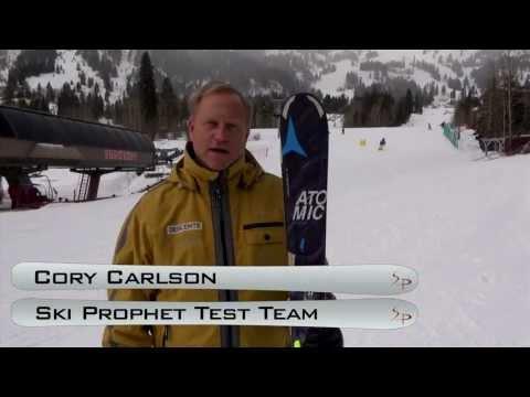 "2014 Atomic ""Nomad Blackeye Ti"" Ski Test With Cory Carlson"