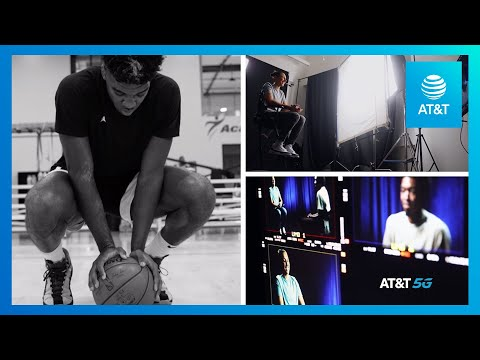 AT&T 5G Holovision Interview featuring Diana Taurasi and NBA Draft Prospect Patrick Williams | AT&T-youtubevideotext
