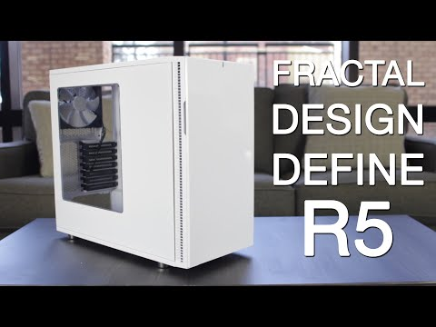 Fractal Design Define R5 | White Windowed Silent Case Review