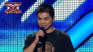 Чжан Юйфен Венджун - Обійми мене - Тренировочный лагерь - Х-фактор 4 - 12.10.2013