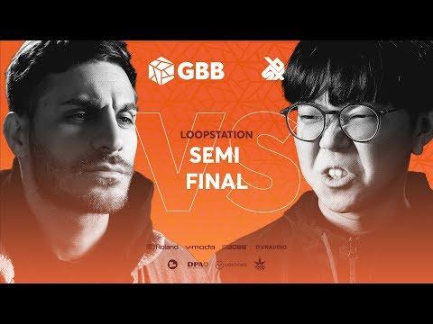 RYTHMIND vs SO-SO   Grand Beatbox Battle 2019   LOOPSTATION Semi Final