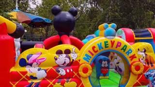 Детский парк в Долине Роз (Кишинев, 27.05.2017)
