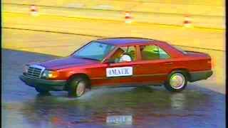 w124 4matic - Mercedes promotion video for USA 1990 #mercedesw124