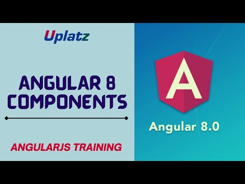Angular 8 Components | Angular Certification Training | Learn Web ...