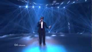 Donny Montell - Love Is Blind (Lithuania) Eurovision 2012 Grand Final Original HD 720P