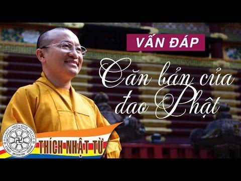 Bài 02: Vấn đáp: Căn bản của đạo Phật (08/05/2011) Thích Nhật Từ