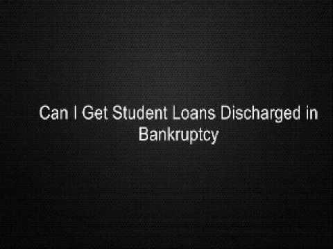Can I Get Student Loans Discharged in Bankruptcy