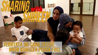 ZeeZee & Shireen Sungkar saling bongkar cara didik anak berpuasa