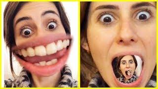 Instagram Yüzlerim Komik Eğlenceli Yüz Değiştirme Dila Kent