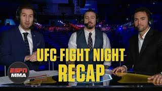 UFC Fight Night Recap: Korean Zombie ends decade with KO of Frankie Edgar | ESPN MMA