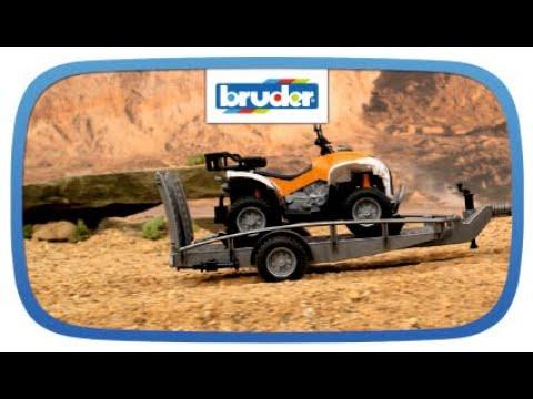 Quad mit Fahrer -- 63000 -- Bruder Spielwaren