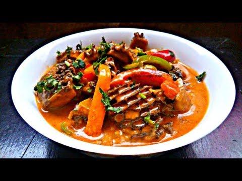 Creamy matumbo Curry with Pilipili Hoho | Bell Peppers | Jikoni Magic