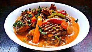 Creamy matumbo Curry with Pilipili Hoho   Bell Peppers   Jikoni Magic