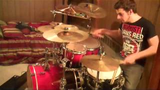 Dance Gavin Dance - The Robot With Human Hair Pt. 2 1/2 Drum Cover