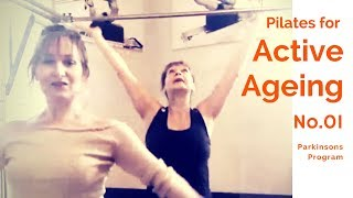 Pilates for Active Ageing no. 1. Parkinson's disease
