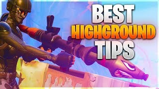 HOW TO WIN! AGGRESSIVE SOLO TIPS! Controlling The Highground (Fortnite Battle Royale)