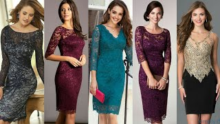 Worlds Best Designer Formal Party Wear Evening Lace Dresses For Working Women #2020