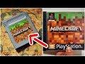 As Vers es Secretas Do Minecraft psp Ps1 Game Boy E Nds
