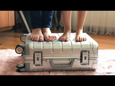 Xiaomi 90FUN 20inch Travel Suitcase 31L Aluminum Alloy Unboxing & Review