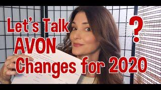 Lets Talk AVON Changes 2020